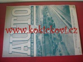 AUTO - ČASOPIS ČS. MOTORISTŮ ČÍSLO BŘEZEN 1947
