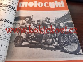 3. ROČ. ČASOPISU MOTOCYKL 1951