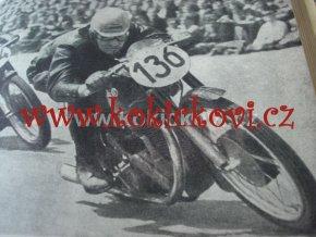4. ROČ. ČASOPISU MOTOCYKL 1952