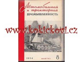 AUTOMOBILOVÝ PRŮMYSL - SSSR - ČASOPIS - 1954