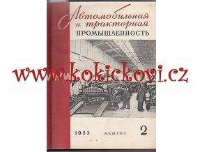 AUTOMOBILOVÝ PRŮMYSL - SSSR - ČASOPIS - 1953