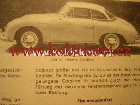 Austro Motor Zeitschrift 1957 MERCEDES 300 SL PORSCHE TATRA