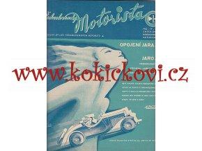 ČESKOSLOVENSKÝ MOTORISTA ROČ. 1934 WALTER AERO ZETKA KARDAUS
