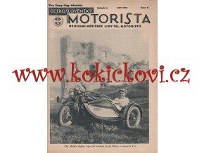 ČESKOSLOVENSKÝ MOTORISTA 2. ROČ. 1931 LIGA ČSL. MOTORISTŮ