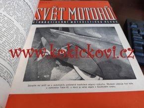 3. ROČNÍK SVĚT MOTORŮ 1949 - TATRA 87 ZETOR JAWA