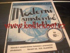 MODERNÍ AMATÉRSKÉ REPRODUKTORY NAPŘ. TELEFUNKEN 1927