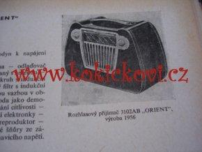 Rozhlasové a televizní přijímače TESLA 1964 STRAN 310