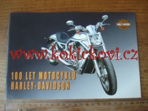 100 let motocyklů Harley-Davidson