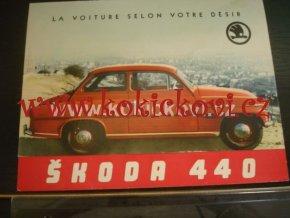 Prospekt na Škoda 440 SPARTAK MOTOKOV