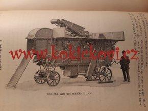 Hospodářské strojnictví PLUHY LOKOMOBILA TRAKTOR STROJE ATD 1931