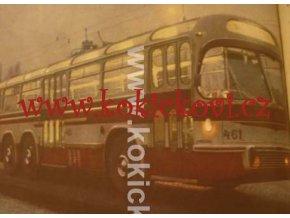TECHNICKÝ MAGAZÍN 1959 TROLEJBUS T461 ČEZETA LOKOMOTIVA T498