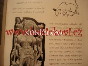Výstava zboží Indické republiky, Československo 1956  slonovina