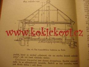 HOSPODÁŘSKÉ STAVITELSTVÍ STODOLY KONÍRNY CHLÉVY SÝPKY 1946