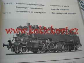 Wiener Floridsdorf LOKOMOTIVFABRIK - katalog parní lokomotivy