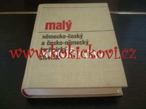 Malý německo-český a česko-německý technický slovník