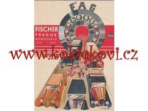 REKLAMNÍ PLAKÁT FAG LOŽISKA C.MORCHÉ 1931 Schaeffler Group