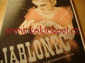 JABLONEC CZECHOSLOVAKIA BIŽUTERIE REKLAMNÍ PUBLIKACE 40. LÉTA