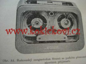 PRACUJEME S MAGNETOFONEM - KUBÁT 1961