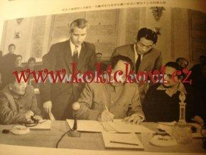 STARÝ ČÍNSKÝ ČASOPIS 3/1958 MAO CE TUNG CHINA