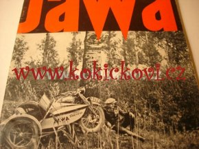 ČASOPIS JAWA JAWA č. 4 1935