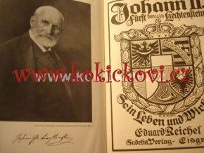Johann II. Fürst von u. zu Liechtenstein. Sein Leben und Wirken