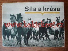 SÍLA A KRÁSA KONÍ - KRÁSNÁ FOTOKNIHA 1970