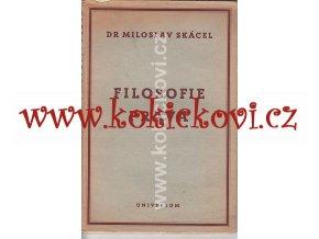 FILOSOFIE PRÁVA DR. SKÁCEL UNIVERSUM 1947