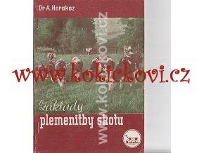 ZÁKLADY PLEMENITBY SKOTU DR. KARAKOZ 1949