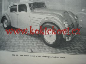 The Automobile Engineer Volume XXIII 1933 in English IN TATRA 77