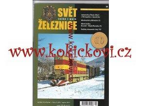 ČASOPIS SVĚT VELKÉ I MALÉ ŽELEZNICE 3/2011