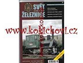 ČASOPIS SVĚT VELKÉ I MALÉ ŽELEZNICE 4/2007