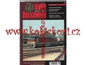 ČASOPIS SVĚT VELKÉ I MALÉ ŽELEZNICE 2/2007