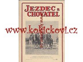 JEZDECKÝ ČASOPIS ROK 1947 ČÍSLO 11