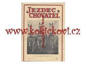JEZDECKÝ ČASOPIS ROK 1947 ČÍSLO 10
