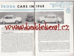 CZECHOSLOVAK MOTOR REVUE - 1968 ŠKODA MBX
