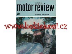 CZECHOSLOVAK MOTOR REVUE - 1968 JAWA 90 ŠKODA 1000