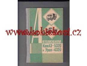 AUTOMOBILY KAMAZ 5320 A URAL 4320 TEXT RUSKY MOSKVA 1981