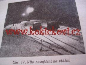 OSVĚTLOVÁNÍ NÁDRAŽNÍCH PLOCH ČSD 1952