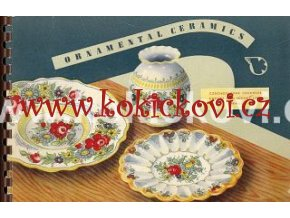 Katalog ornamentální keramiky Catalogue of Ornamental ceramics