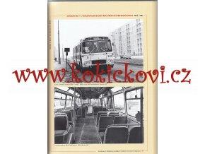 Autobusy a trolejbusy PRAGA ŠKODA TATRA KAROSA MHD - KATALOG