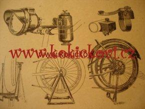 Motocykl jeho konstrukce a opravy Josef Stárek 1920