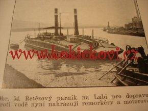 Průplav Labe - Dunaj - Odra v soustavě vodních cest 1937