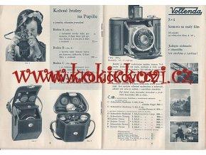 FOTOAPARÁTY NAGEL REKLAMNÍ BROŽURA 18 STRAN KODAK