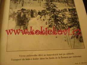 LESNICKÁ PRÁCE - 3. ROČNÍK  1924 poškozeno ŠUMAVA