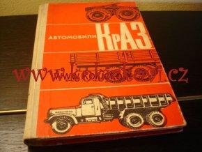 AUTOMOBILY KRAZ TRANSPORT MOSKAVA 1968 RUSKY