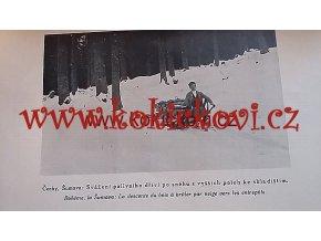 LESNICKÁ PRÁCE - 6. ROČNÍK  1927 pěkný stav