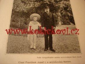 Císař Karel I. Obraz jeho života Lev Smolle 1917