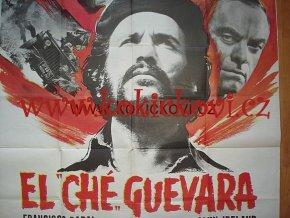 ORIGINAL VINTAGE 1968 ITALIAN FILM POSTER EL CHÉ GUEVARA
