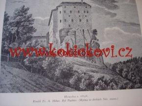 Kniha o Housce J.V. Šimák Praha 1930 - věnování autora viz foto