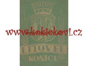 V. Zlámal - Litovel, Konice a okolí 1937-1938